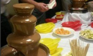 Аренда шоколадного фонтана как бизнес