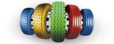 автомобильные цветные шины