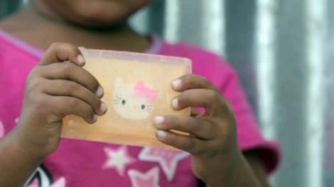детское мыло с игрушкой внутри