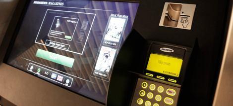 вендинговый автомат - типография