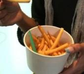 вендинговый автомат-готовит картофель-фри