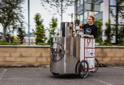 Velopresso - кофеварка - велосипед