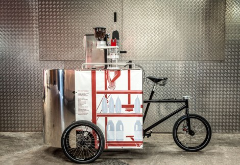 Velopresso - велосипед - кофеварка