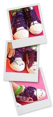 обувь для раскрашивания для детей
