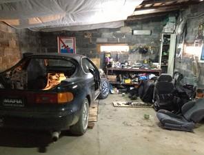 Авторемонтная мастерская в гараже